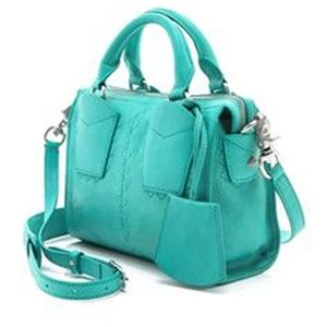 Botkier Jackson Sea Glass (Turquoise) Satchel